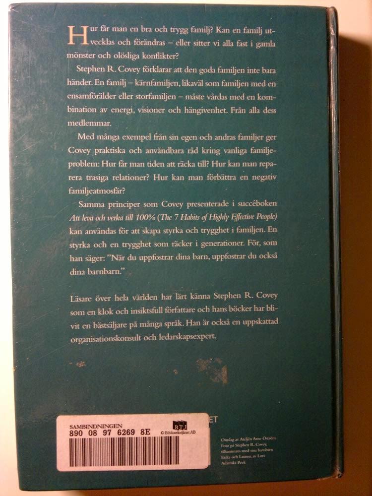 Baksidan av boken, läs själv om innehållet. Klicka för större bild.