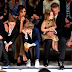 David, Victoria Beckham & their brood at the Burberry London In LA show