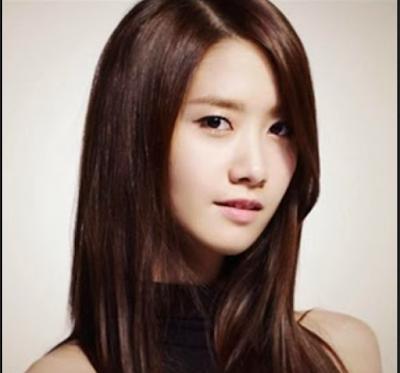 model rambut segi panjang untuk wajah bulat