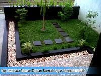 Tips Menata Taman Depan Rumah Agar Menjadi Indah