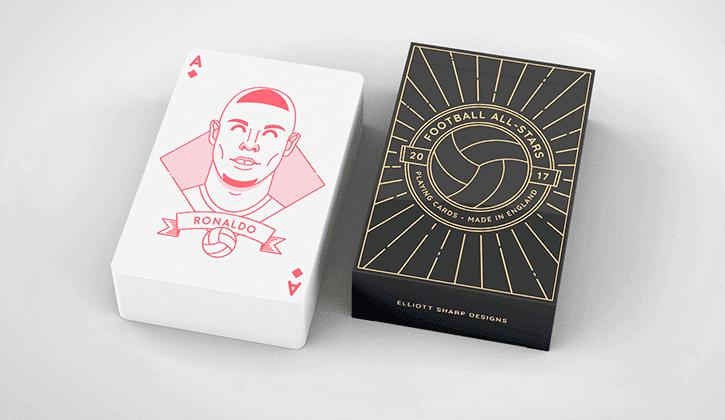 barajas cartas estrellas fútbol