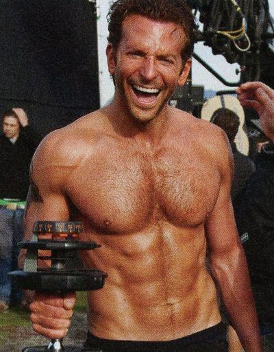 Bradley Cooper workout and diet secret | Muscle world