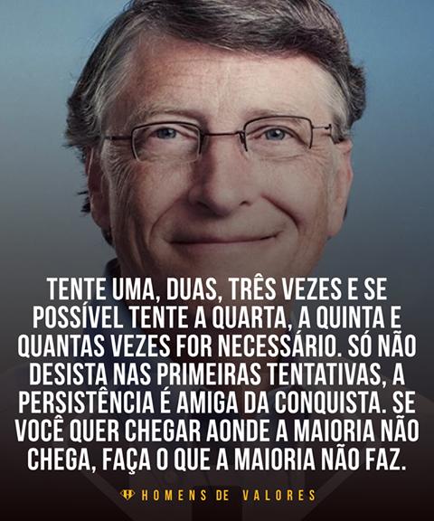 Transformação Interior Frases De Bill Gates