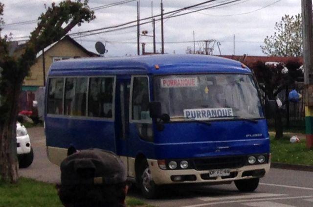 Trabajadores de buses de Purranque plantearon sus preocupaciones a Diputada Nuyado