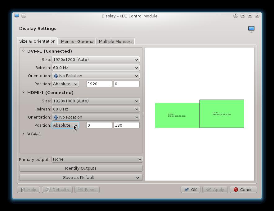 DivByZero com: HOWTO: Make KDE remember dual-monitor randr settings