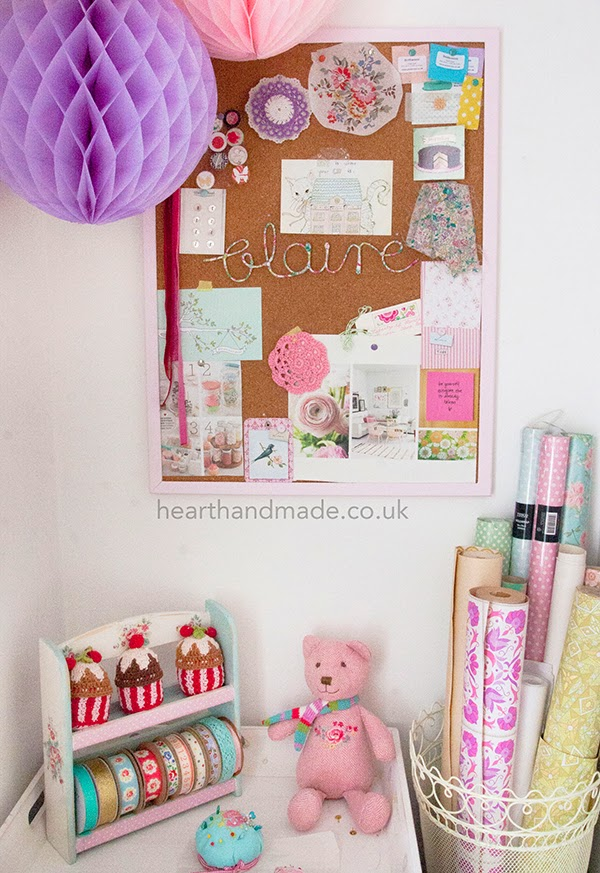 Craft Room and inspiration board