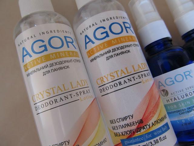 Агор мінеральний дезодорант для панянок