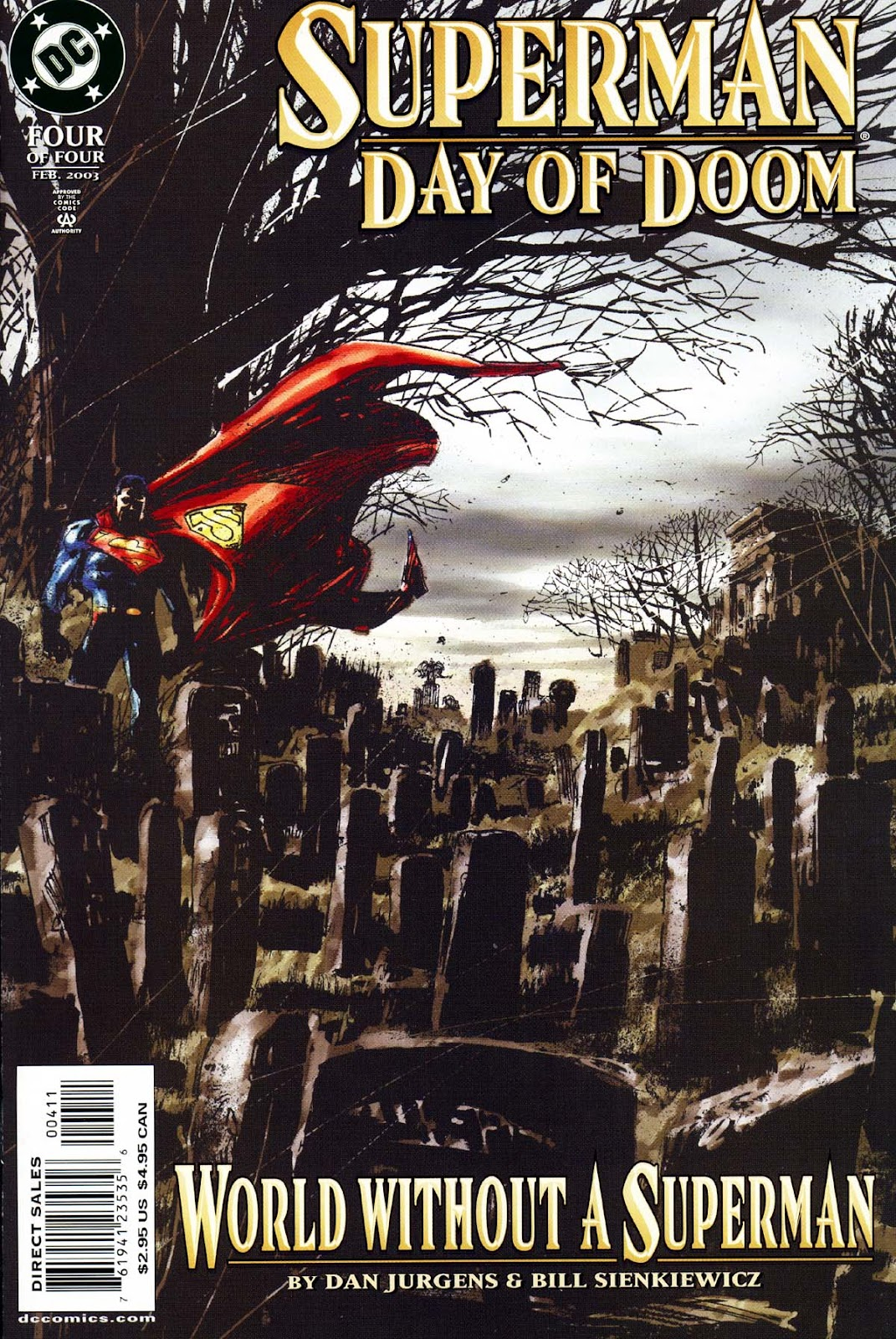 Superman: Day of Doom issue 4 - Page 1