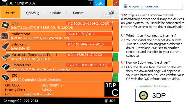 Download 3DP Chip 11.10 Free - torkaland.blogspot.com