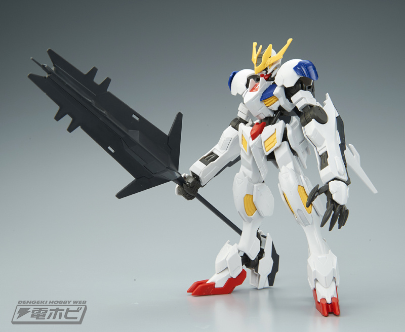 HG 1/144 Gundam Barbatos Lupus Rex Sample Images by Dengeki Hobby