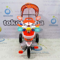 family aeroplane pesawat musik dobel tricycle