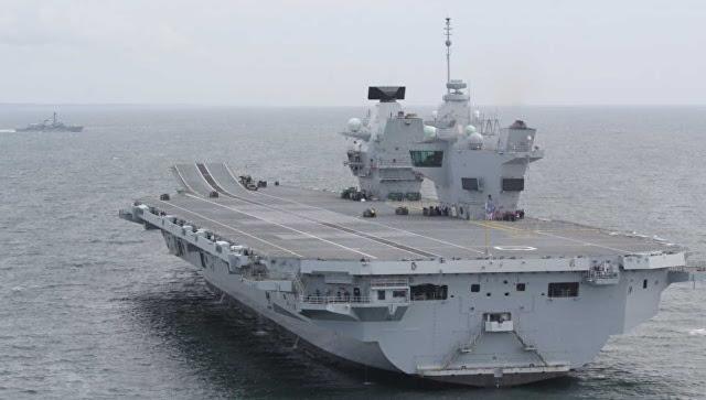 """Kemhan Rusia menyebut kapal induk baru Inggris itu """"target empuk angkatan laut"""""""