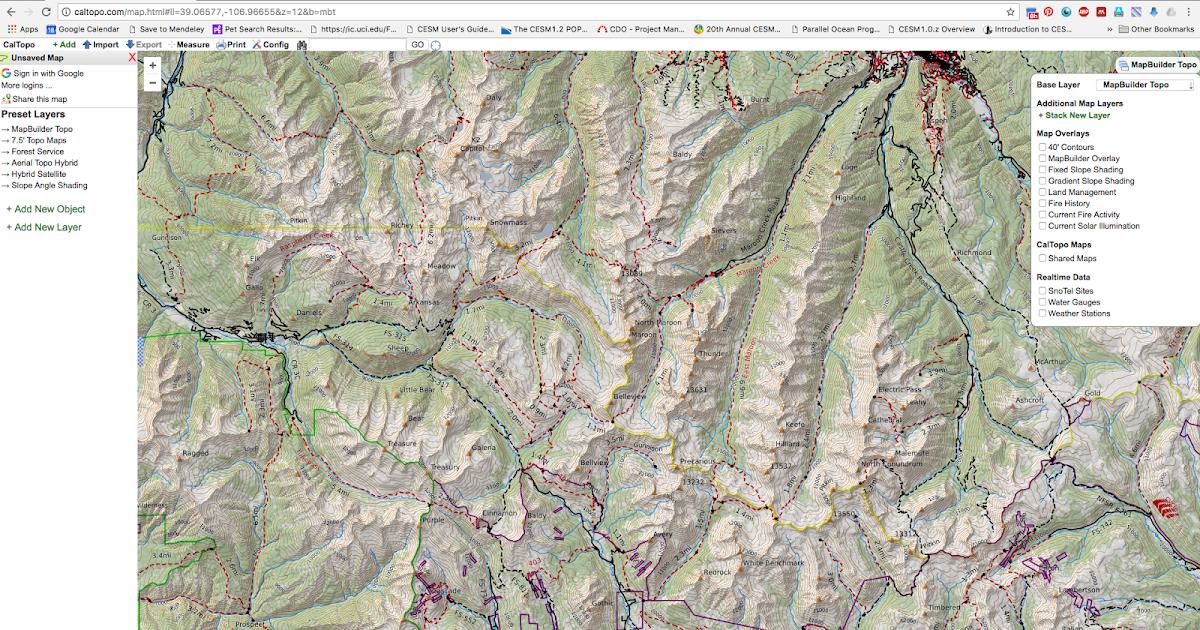 ऋषि उवाच ...: Navigation while hiking: 2. Printing a on