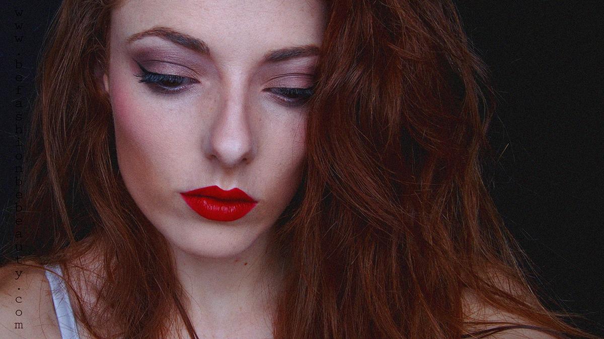 "Maquillaje paso a paso con ""Be fashion. Be beauty."" Labial Ruby Woo de MAC. Paso a paso."