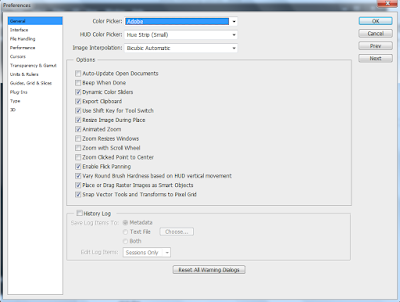 Screenshot: Preferences dialog box
