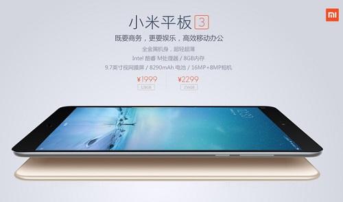 Harga Xiaomi Mi Pad 3