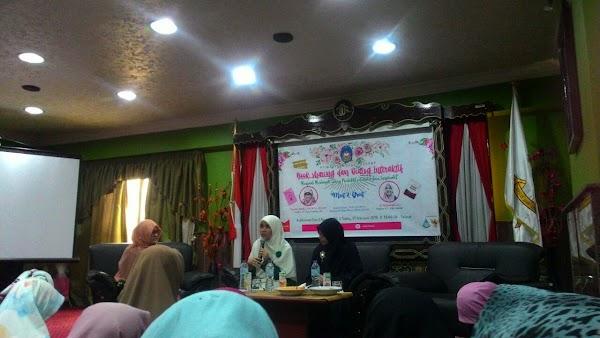 Book Sharing dan Dialog Interaktif PII Wati Mesir, Dewi Nur Aisyah: Menjadi Muslimah yang Produktif dan Prestatif
