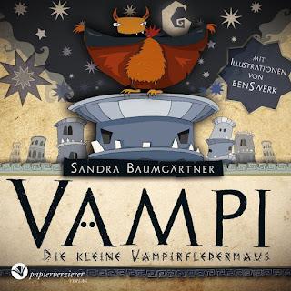 Cover von Sandra Baumgärtner - Vampi, die kleine Vampirfledermaus