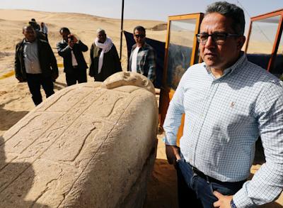 Arkeolog Mesir Menemukan Nekropolis Kuno di Selatan Kairo
