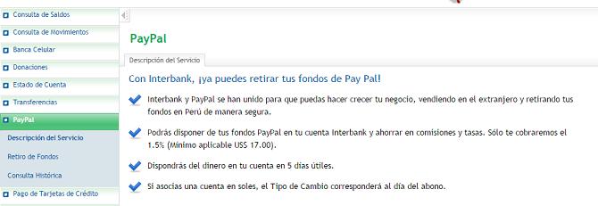Recibe tu dinero de las ptc por Interbank, un banco seguro
