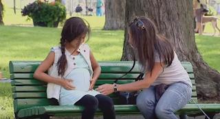 Μια γυναίκα είδε έγκυο στο πάρκο αυτή την 11χρονη! Μόλις όμως είδε τον πατέρα…έπαθε ΣΟΚ