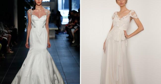 San Diego Style Weddings: Fashion Friday: Cap Sleeve Gowns