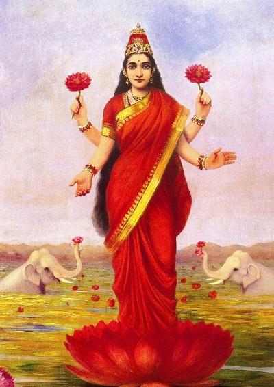 Hindu Goddess vasthri image