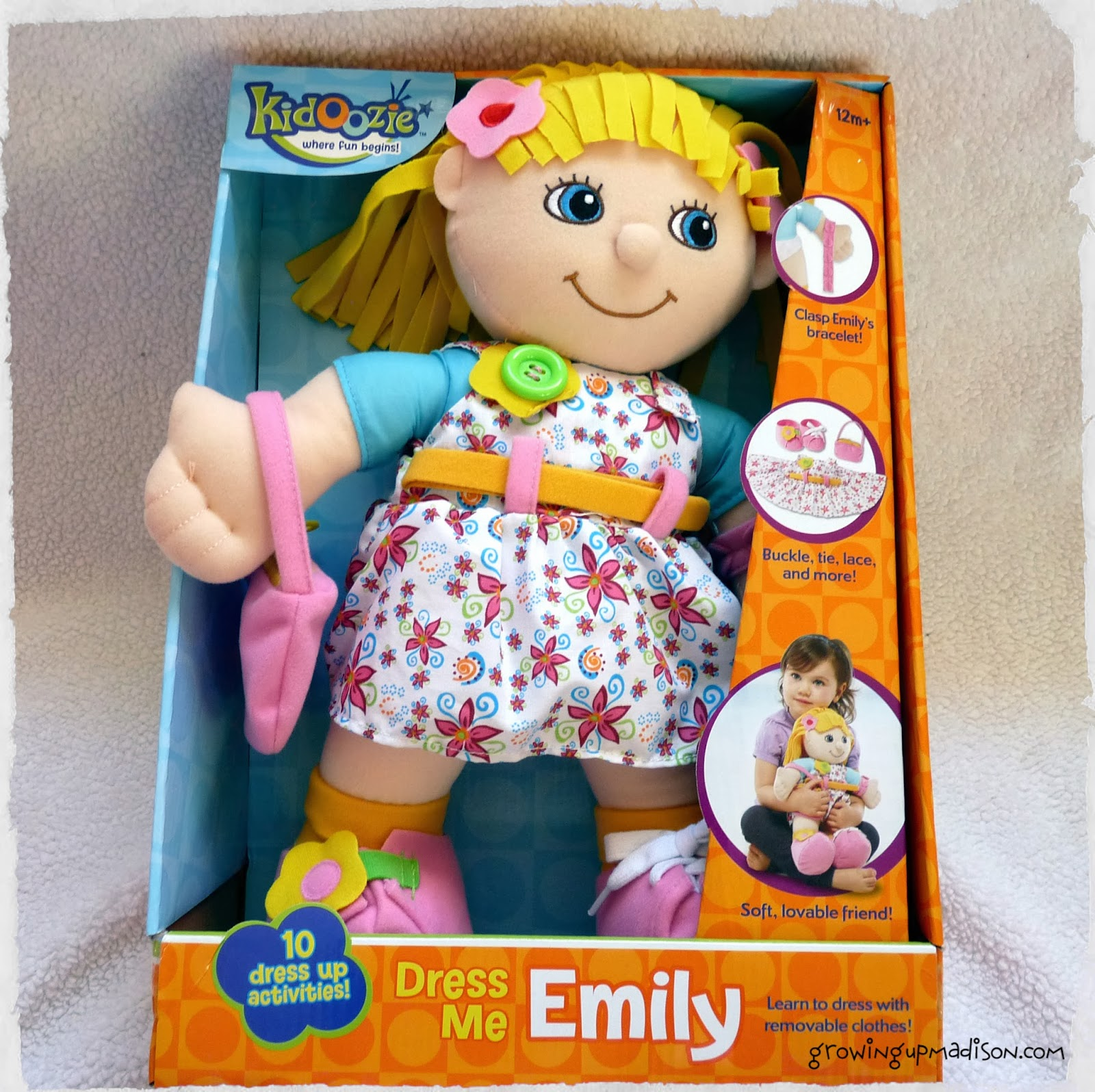 Learn to Dress with Kidoozie Dress Me Emily or Josh #Review ...