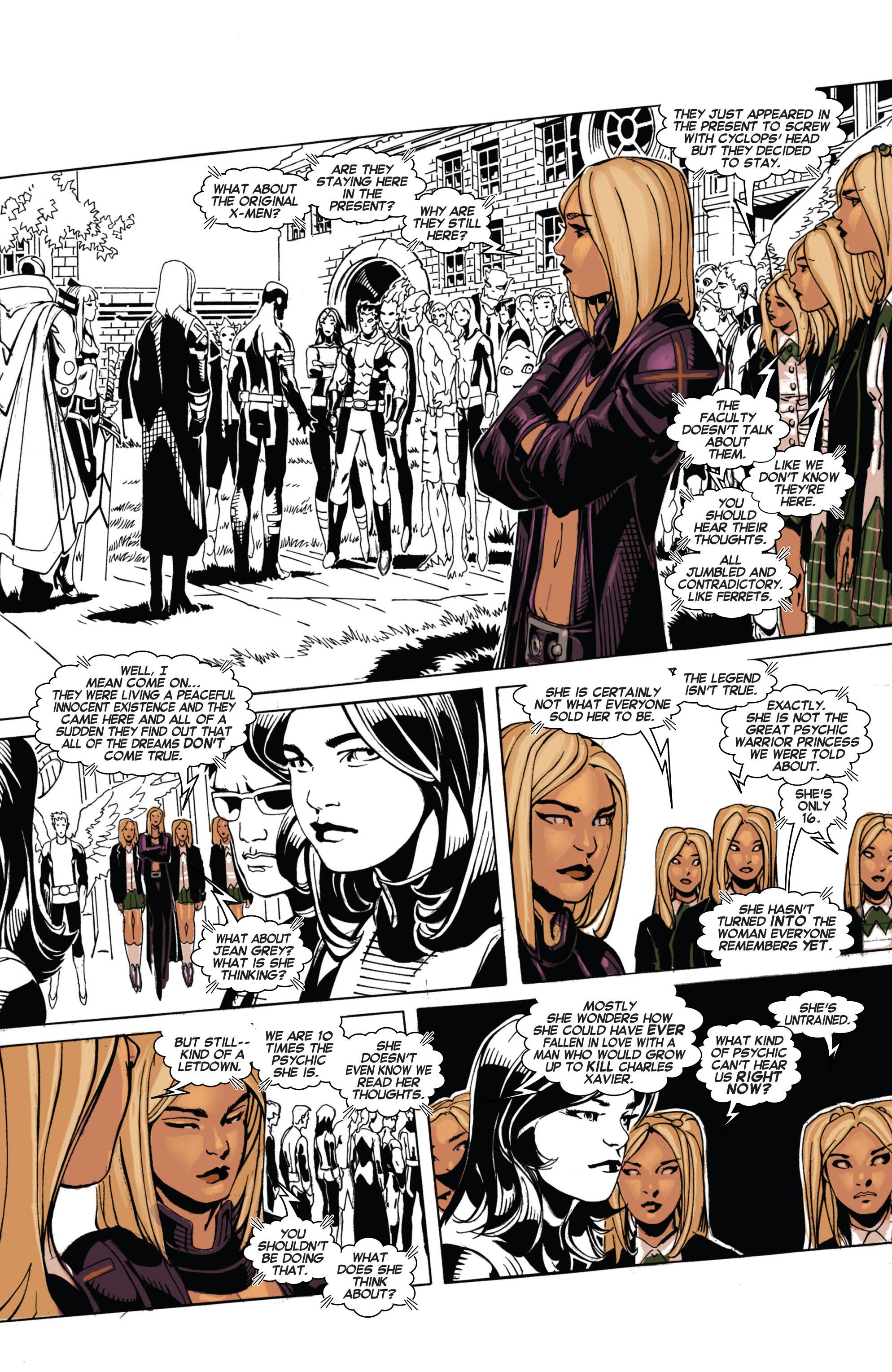 Read online Uncanny X-Men (2013) comic -  Issue #4 - 10