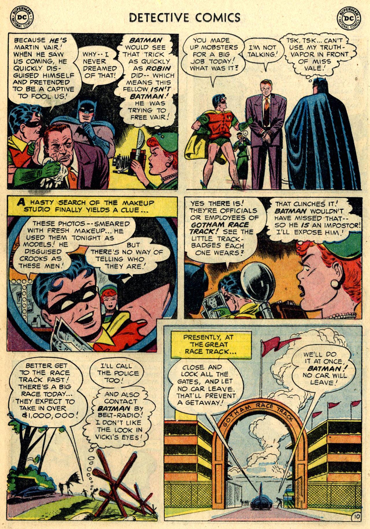 Read online Detective Comics (1937) comic -  Issue #216 - 12