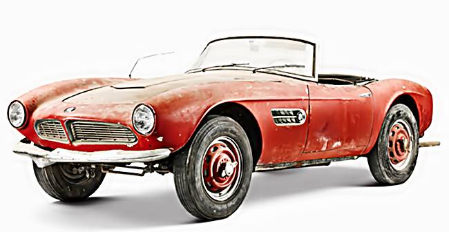 The BMW 507 Elvis Presley