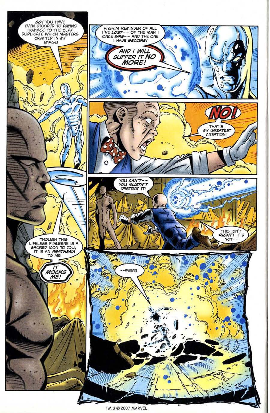 Read online Silver Surfer (1987) comic -  Issue #132 - 34