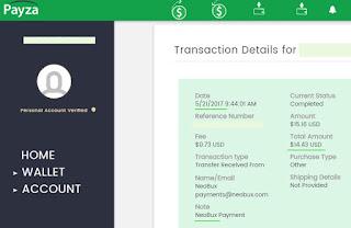Jak wypłacić pieniądze ze strony Neobux? — instrukcja, jak zlecić wypłatę w Neobux.com, wypłata