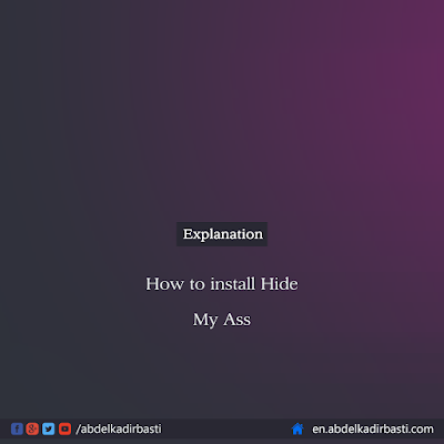 How to install Hide My Ass