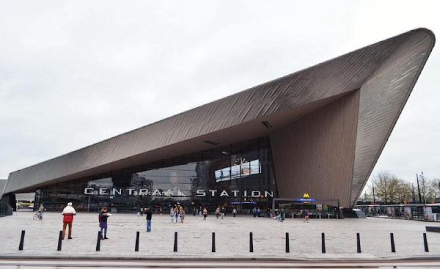 Estação central de Roterdã