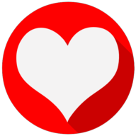 heart colorful icon