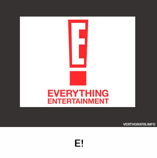 E! ENTERTAINMENT En Vivo