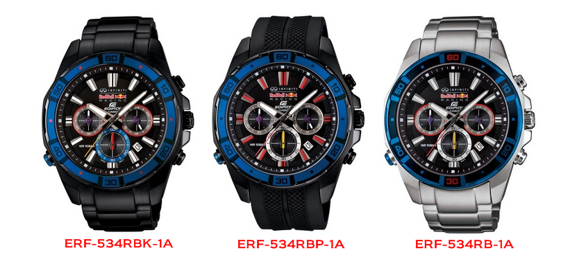 f2d0ffc171eb Casio Infiniti Red Bull Racing Limited Edition EDIFICE Timepieces