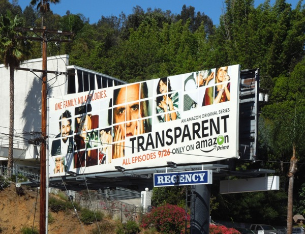 Transparent series premiere billboard