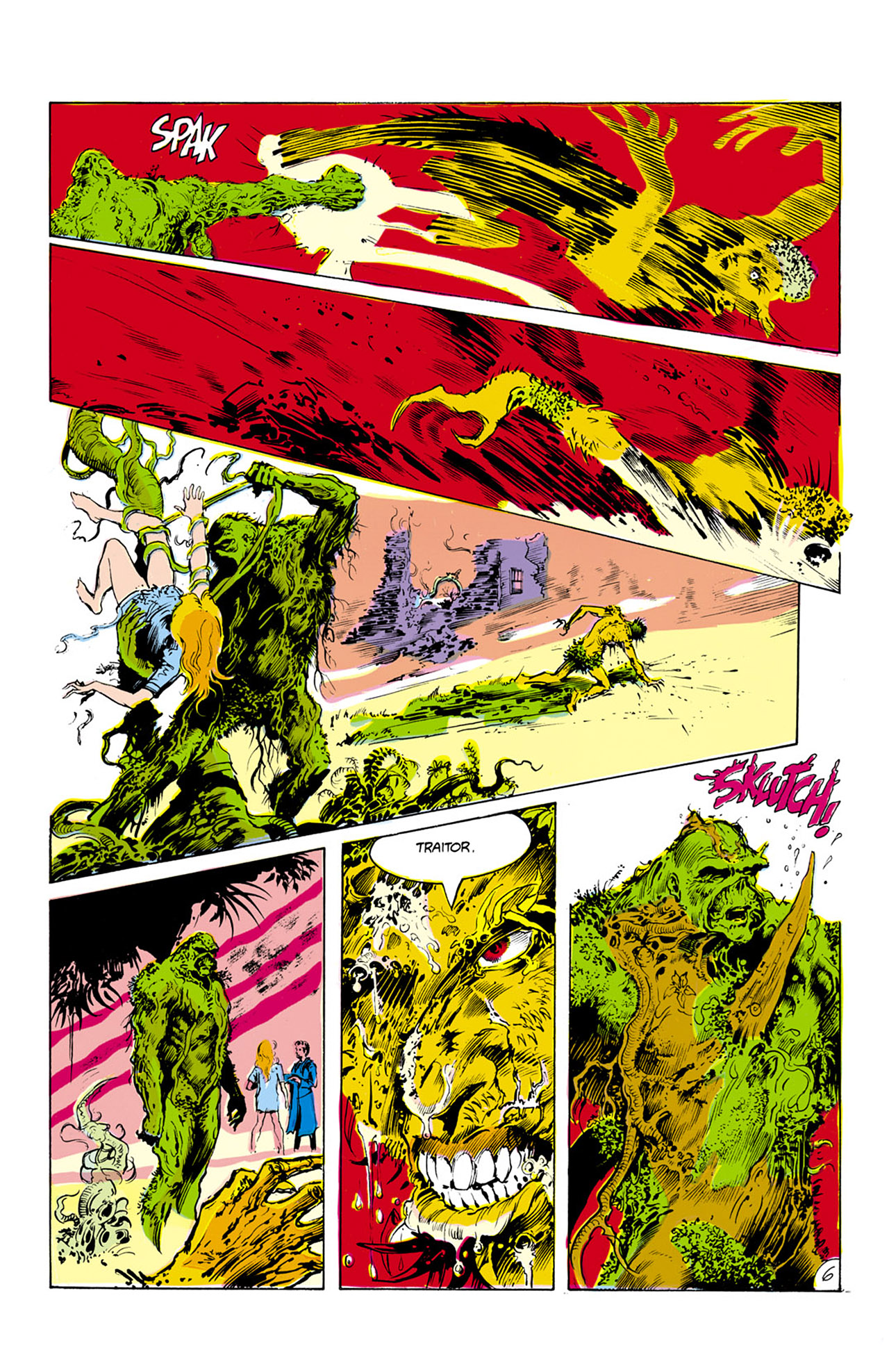 Swamp Thing (1982) Issue #24 #32 - English 7