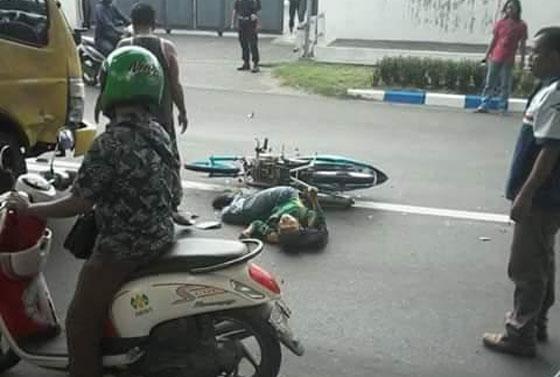 Foto Modifikasi Paling B#go, Satria FU Tanpa Rem Asal Mojokerto