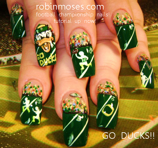 Nail Art By Robin Moses Funky Design Vintage Design Floral Nails