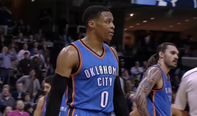Russell Westbrook ejected vs Grizzlies