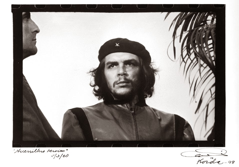 STAMPA FOTOGRAFICA FINE ART FOTO D/'AUTORE Rene Burri CHE GUEVARA Havana 1963