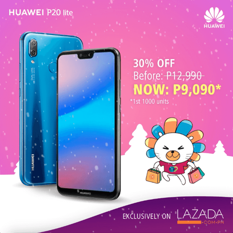 Sale Alert: Huawei to drop the SRP of P20 Lite, Nova 2i, and Y5 lite on 12.12!