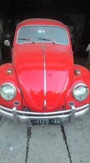 VW Kodok Merah Dijual Nih Cak Mas....