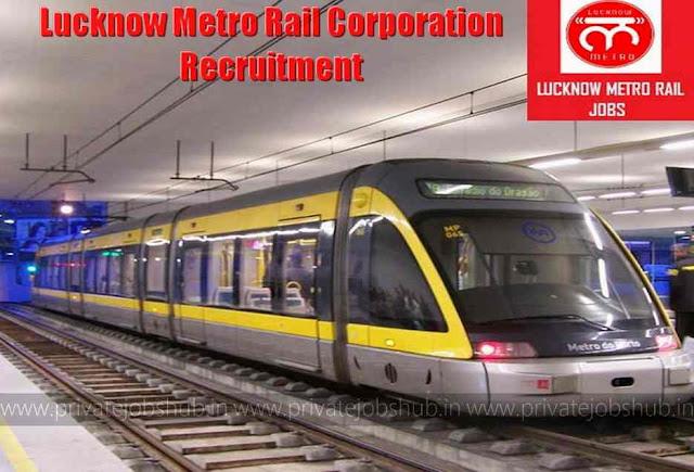 Lucknow Metro Rail Corporation Recruitment