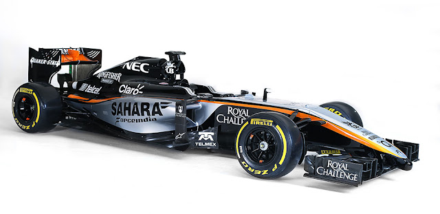 Motor coche VJM08 Formula 1