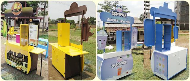 Booth Portable unik