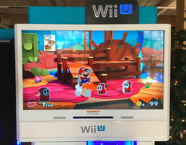 Nintendo Wii U Paper Mario Color Splash #NintendoHoliday